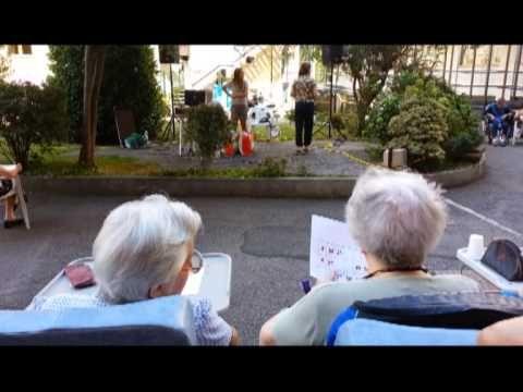 Ferragosto tra gli anziani di Novara