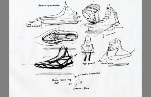 6823cf971d3 Complex: 25 Must-See Design Sketches Of Your Favorite Sneakers   MC ...