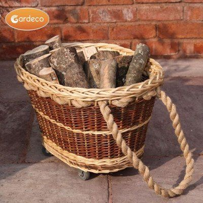 Gardeco Wicker Baskets, Set Of 2 ** Be Sure To Check Out This Helpful