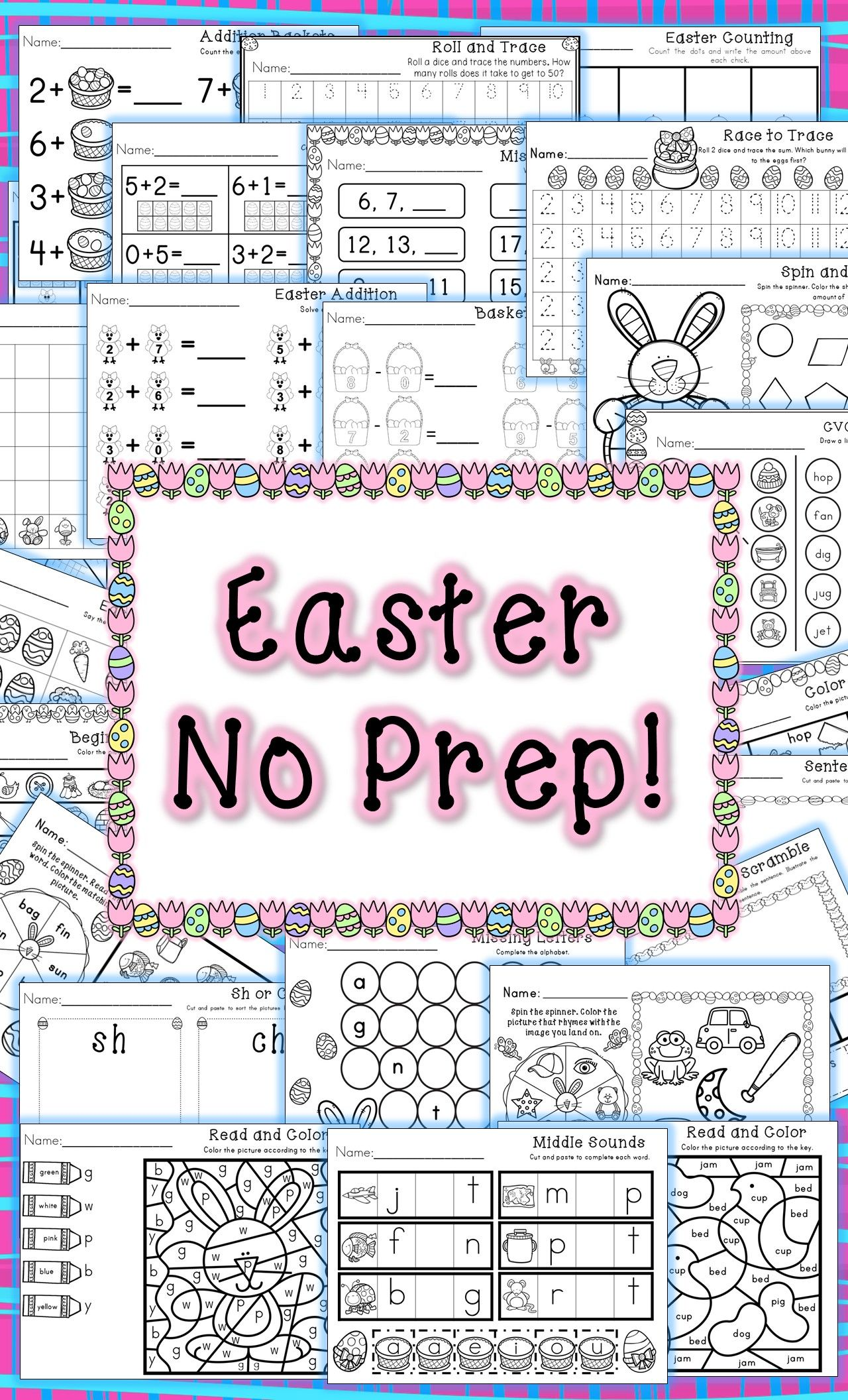 Kindergarten Easter Activities