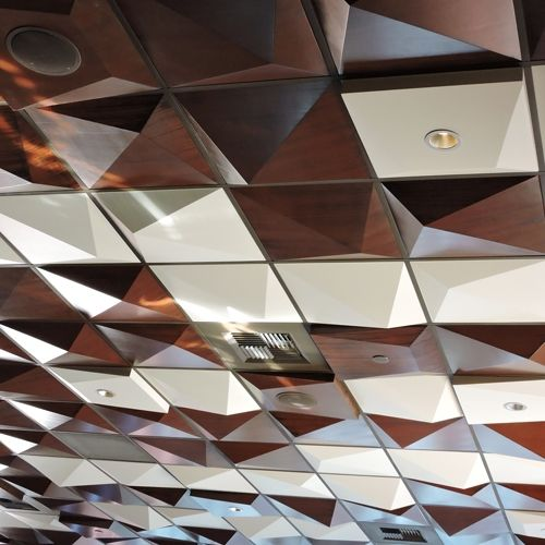 Lovely 1 X 1 Ceiling Tiles Tall 12X12 Ceiling Tiles Home Depot Square 12X24 Ceramic Floor Tile 18 X 18 Ceramic Floor Tile Youthful 1930 Floor Tiles Brown2 X 8 Glass Subway Tile Use The Pyramid Utility Ceiling Tile To Install, Sprinkles, Lights ..