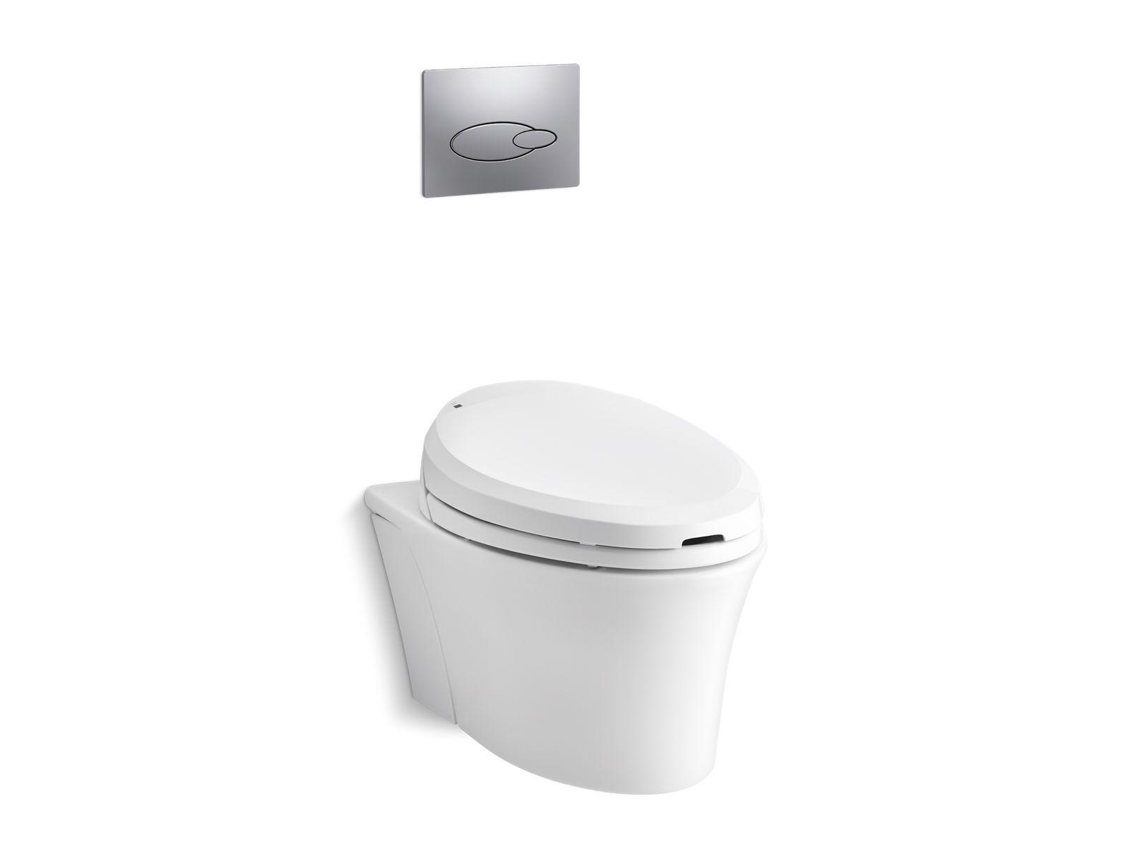 Excellent K 6300 Veil Wall Hung Toilet Bowl With C3 201 Bidet Seat Inzonedesignstudio Interior Chair Design Inzonedesignstudiocom