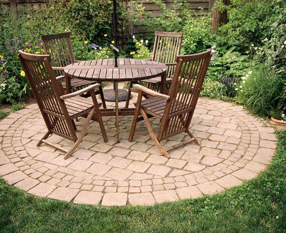 Celtic Stonescaping Circular Patio Modern Patio Design Outdoor Gardens Design