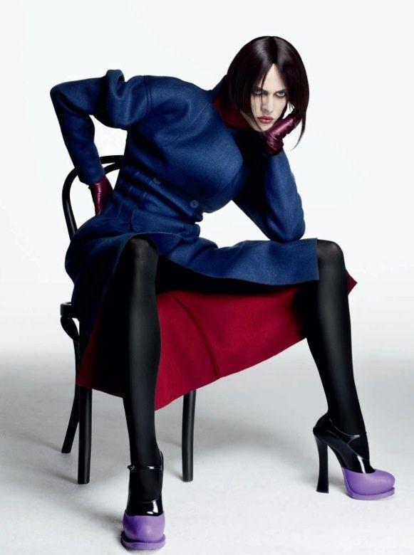 Vogue Italia by Sølve Sundsbø July 2012