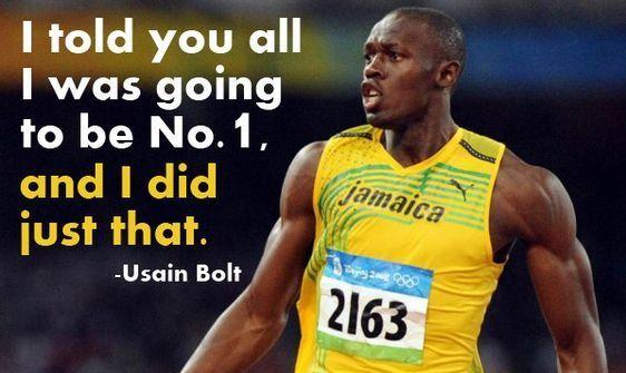 Usain Bolt Quotes Usain Bolt Usain Bolt Quotes Sports Quotes