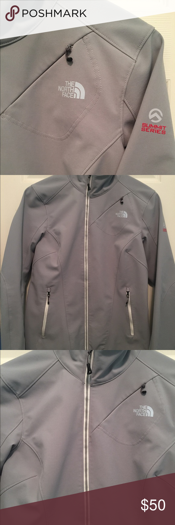 North Face Summit Series Light Grey Jacket L Gray Jacket Jackets The North Face [ 1740 x 580 Pixel ]
