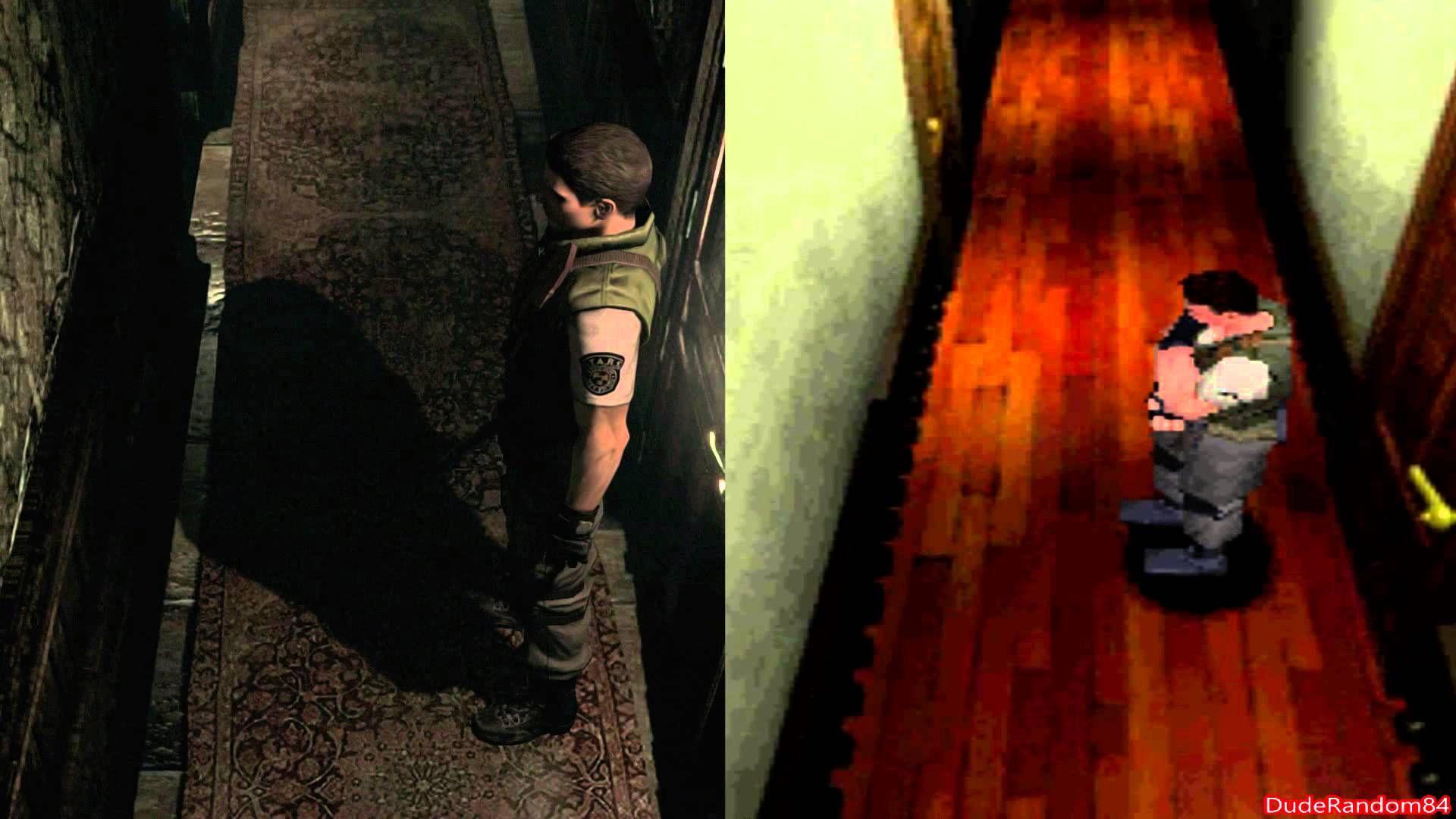 Resident Evil Hd Remaster Vs Playstation 1 Graphics Revelations Reg 3 Comparison Youtube