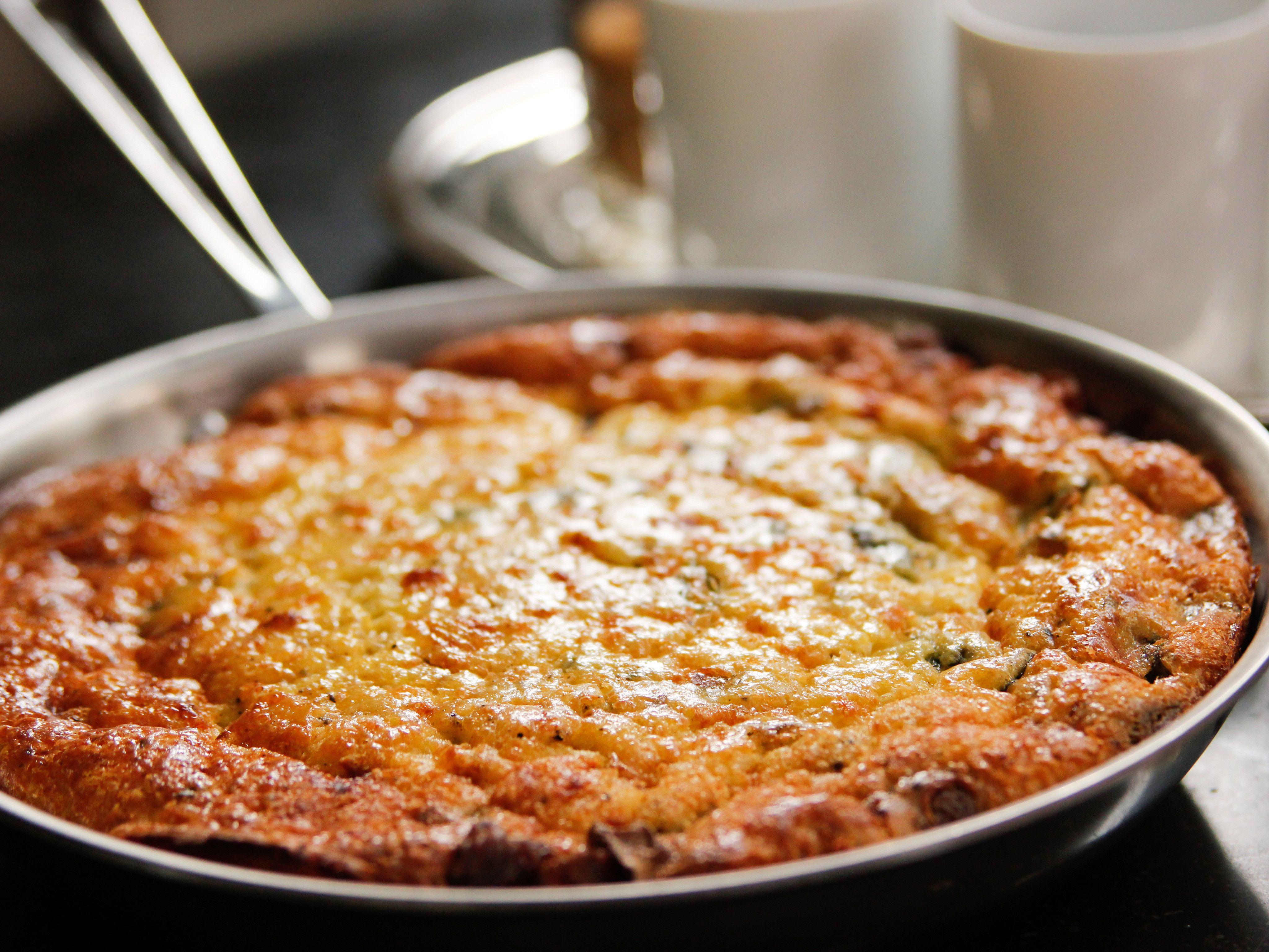 Potato pancetta frittata recipe frittata brunch and barefoot potato pancetta frittata ina garten food network forumfinder Image collections