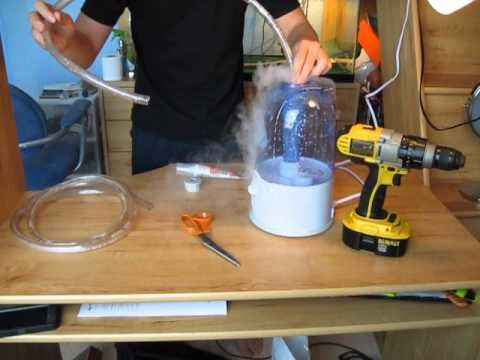 How To Make A Cheap Reptile Fogger Out Of A Humidifier Youtube