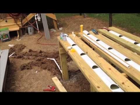 Hybrid Rain Gutter Grow System Step By Step Ep 4 Youtube Grow System Gutter Garden Rain Gutters
