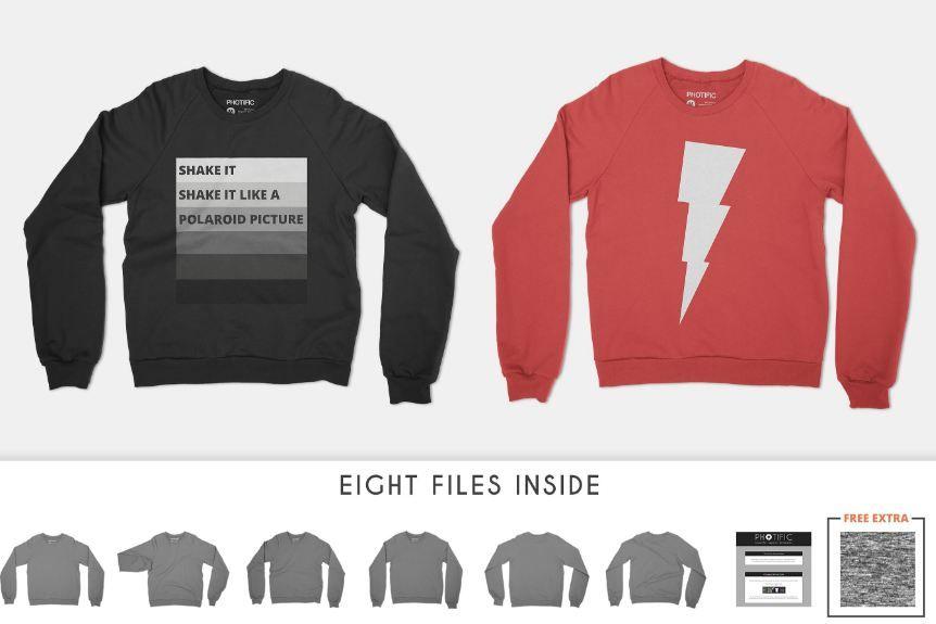 Sweater Mockup Templates Smart Ugly Mens Womens Mockup