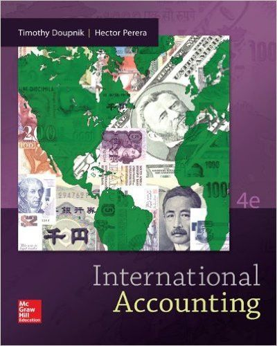 International Accounting 4th Edition, Brand New Textbook, Contact mandy1994sandy@163.com for shipping information and samples.