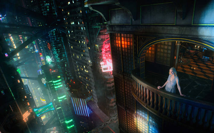 Download wallpapers Altered Carbon, 4k, TV Series, 2018 movie