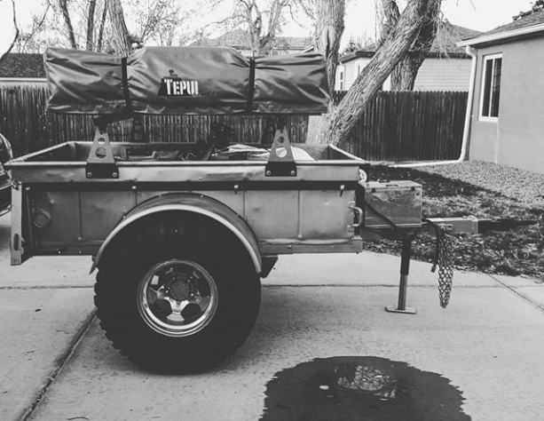 This Is Jeremy S M416 Trailer Recently Outfitted With Diy