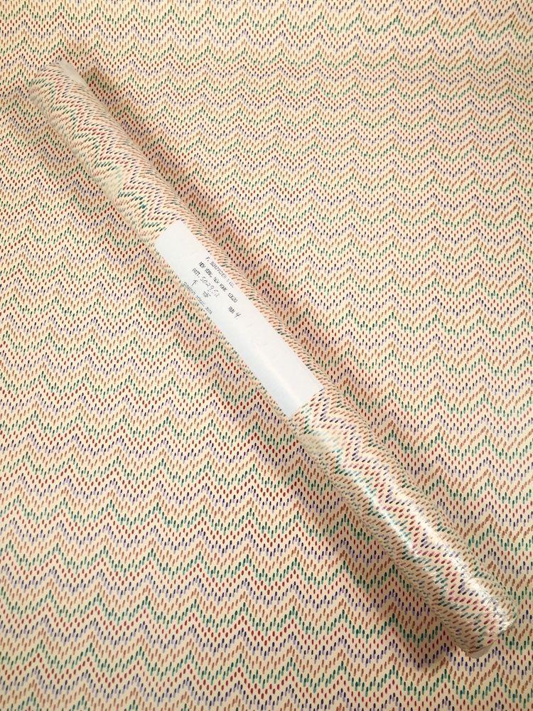 Vintage SCHUMACHER Wallpaper Triple Roll Chevron Stripe