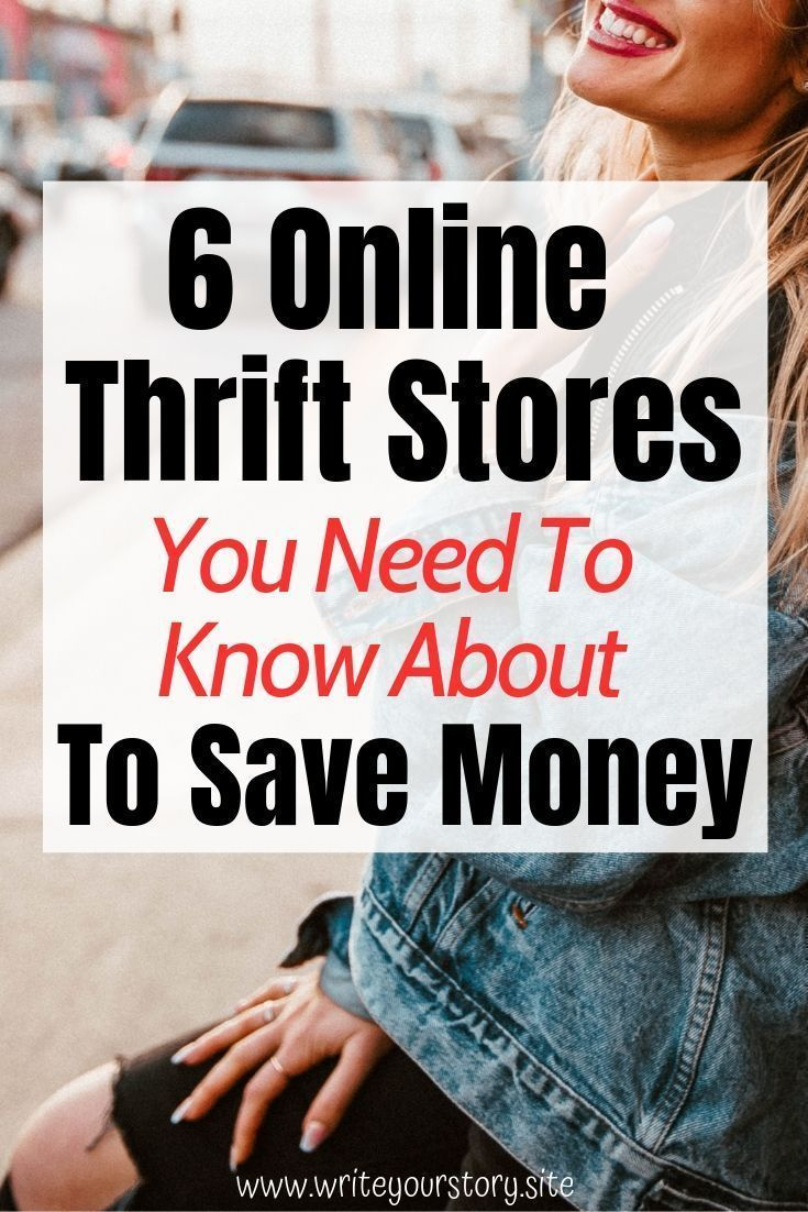 QUALITY Online Thrift Stores You Probably Haven't Heard Of Before - Write Your Story