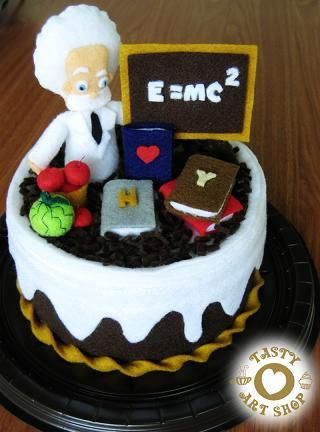 Professor Of Business Theme Cake