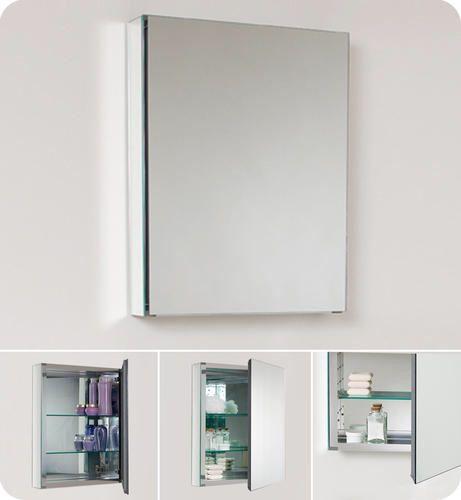 Fresca Small Bathroom Medicine Cabinet W Mirrors At Menards Amusing Small Bathroom Medicine Cabinet Review