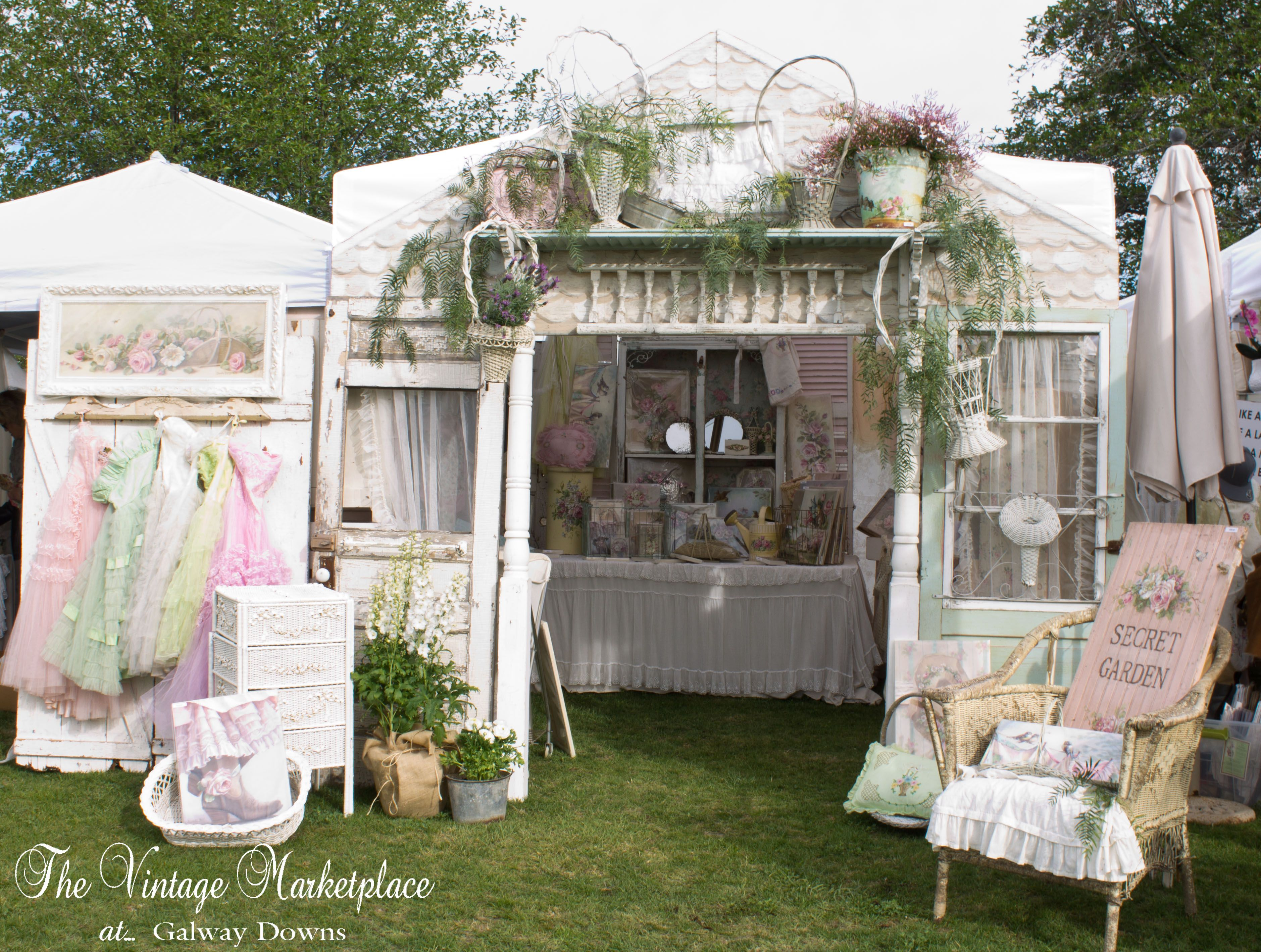 christie repasy designs the vintage marketplace booth display