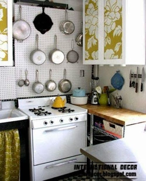 Spacesaving Solutions For Small Kitchens  Kitchen Decorating Interesting Space Saving Kitchen Designs Design Ideas