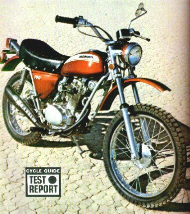 a honda sl-100 --the first bike i ever owned. it was brand new