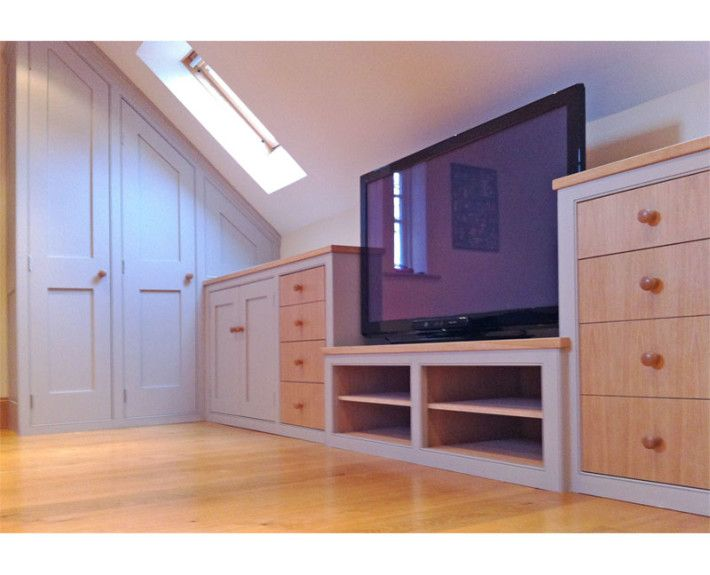 An Attic Den For A Teenager We Fitted Handmade Furniture