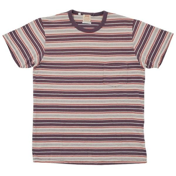 b20f3cc7c Levi's Vintage 1960s Stripe Tee (3.330 RUB) ❤ liked on Polyvore featuring  mens, men's clothing, men's shirts, men's t-shirts, tops, shirts, t-shirts  and ...