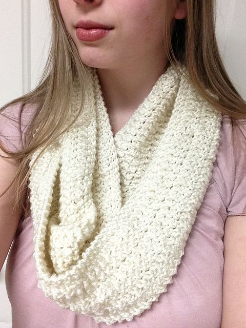 Knitting Patterns Galore - Michelle Infinity Scarf | knit patterns ...