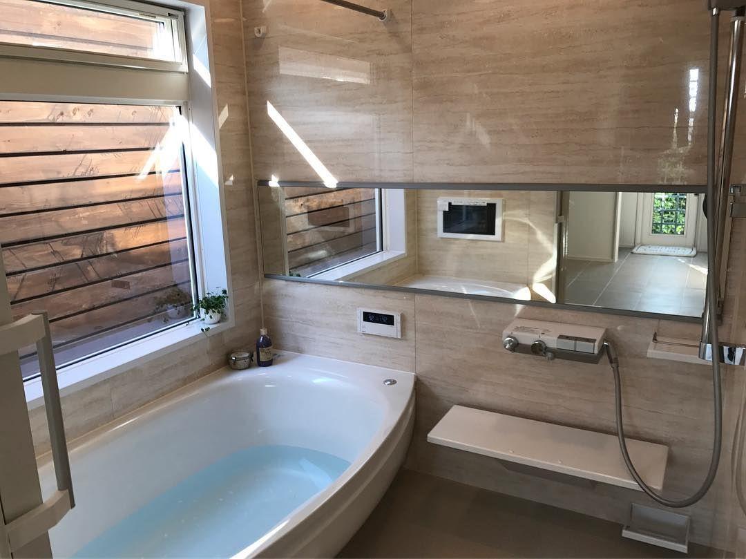 浴室はとにかく寒さ対策がメイン お選びになったtotoサザナのシステム