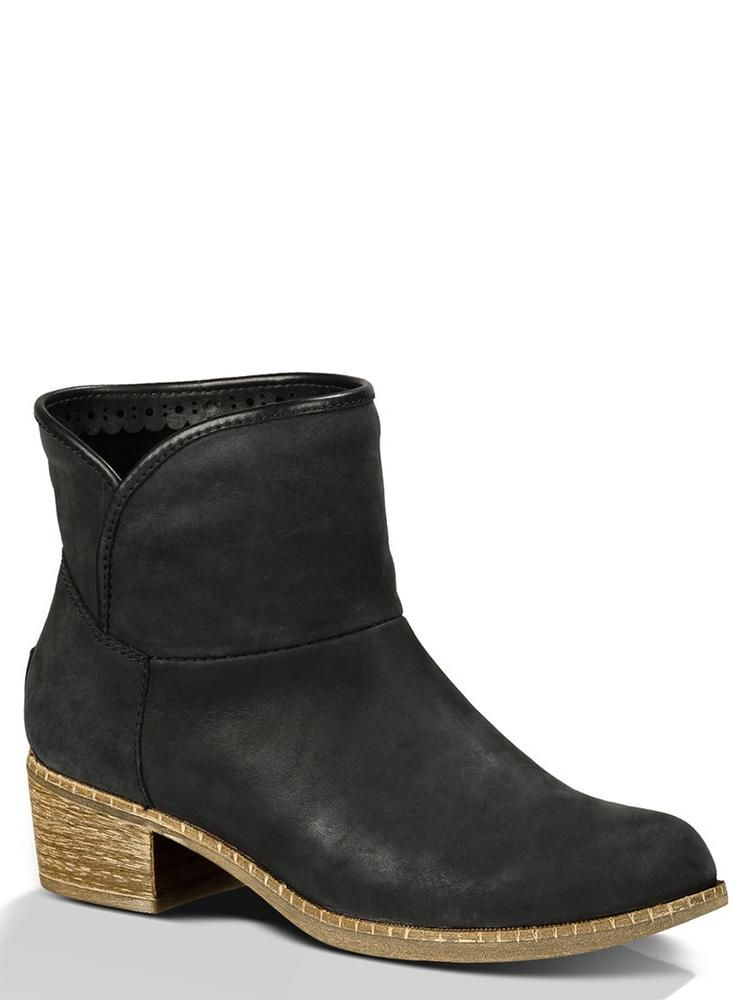 6f5284b3e61 Ugg Australia Darling Ankle Boots Black - CureUK.com | Shop Cure ...