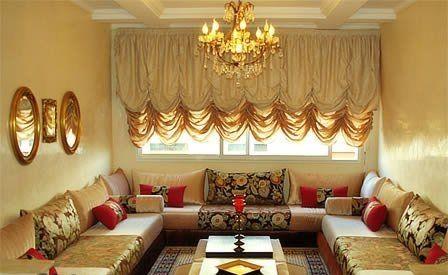 Fauteuil pour salon marocain Canapé design moderne - Déco salon ...