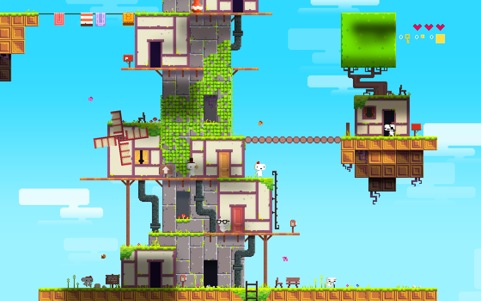 A First Look & Review of Popular Indie 2D Platformer FEZ