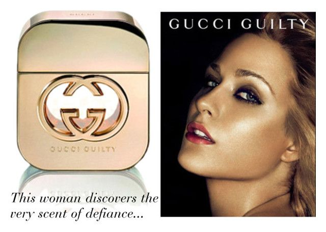 """""""Gucci Guilty Perfume"""" by luxuree ❤ liked on Polyvore featuring beauty, gucci, perfume, spray and eaudetoilette"""