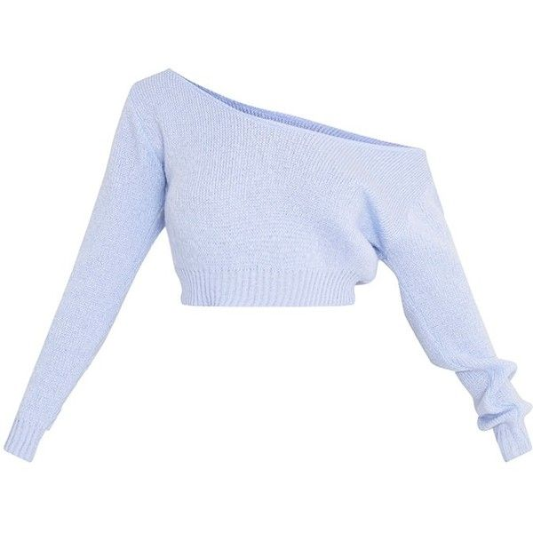 Adelaida Cream Off Shoulder Knitted Crop Jumper 21 Liked On
