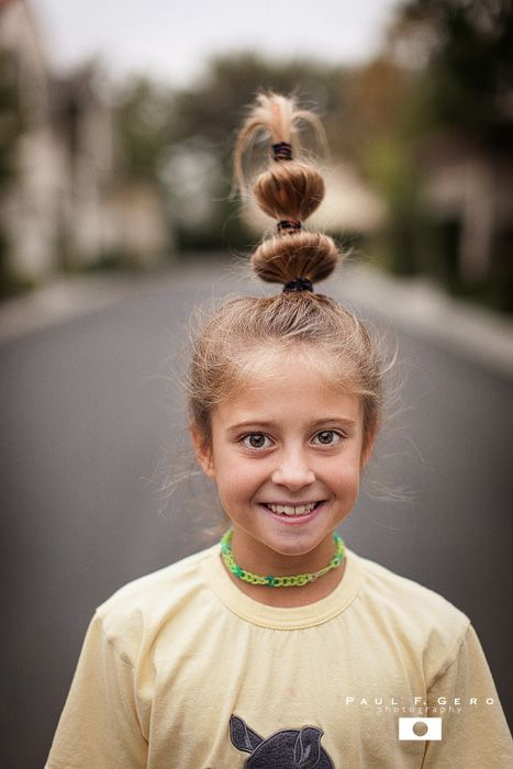 Cindy Lou Who Hairstyle: Crazy Hair Day At School (With Images)