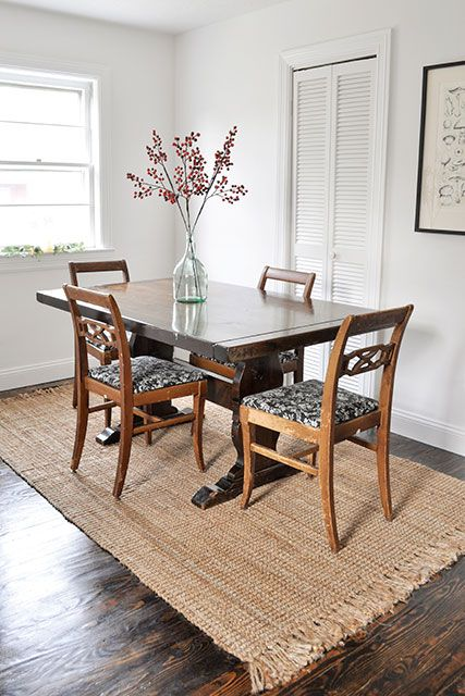 Download Wallpaper What Kind Of Rug Under Kitchen Table