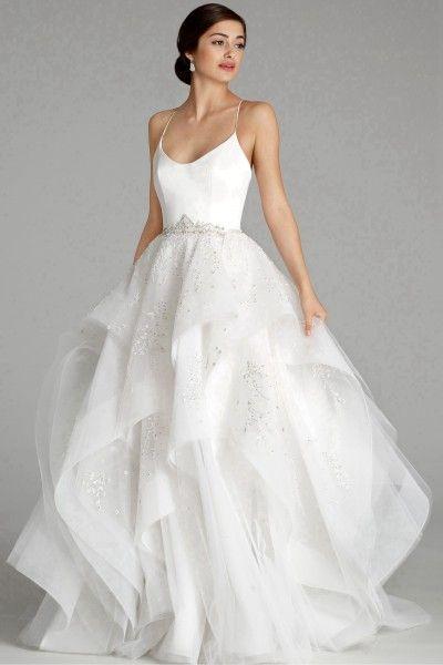 Gothic Sleeveless Floor Length Scalloped Edge Organza Ruffles Ball Gown Uk Wedding Dresses 20 Alvina Valenta Wedding Dresses Wedding Dresses Ball Gowns Wedding