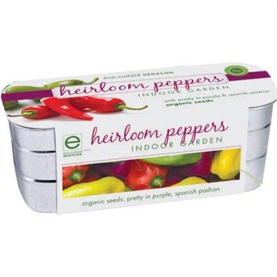 Organic Heirloom Peppers (491562442), Herb Gardens, Garden Kits & Home Gardening | bambeco