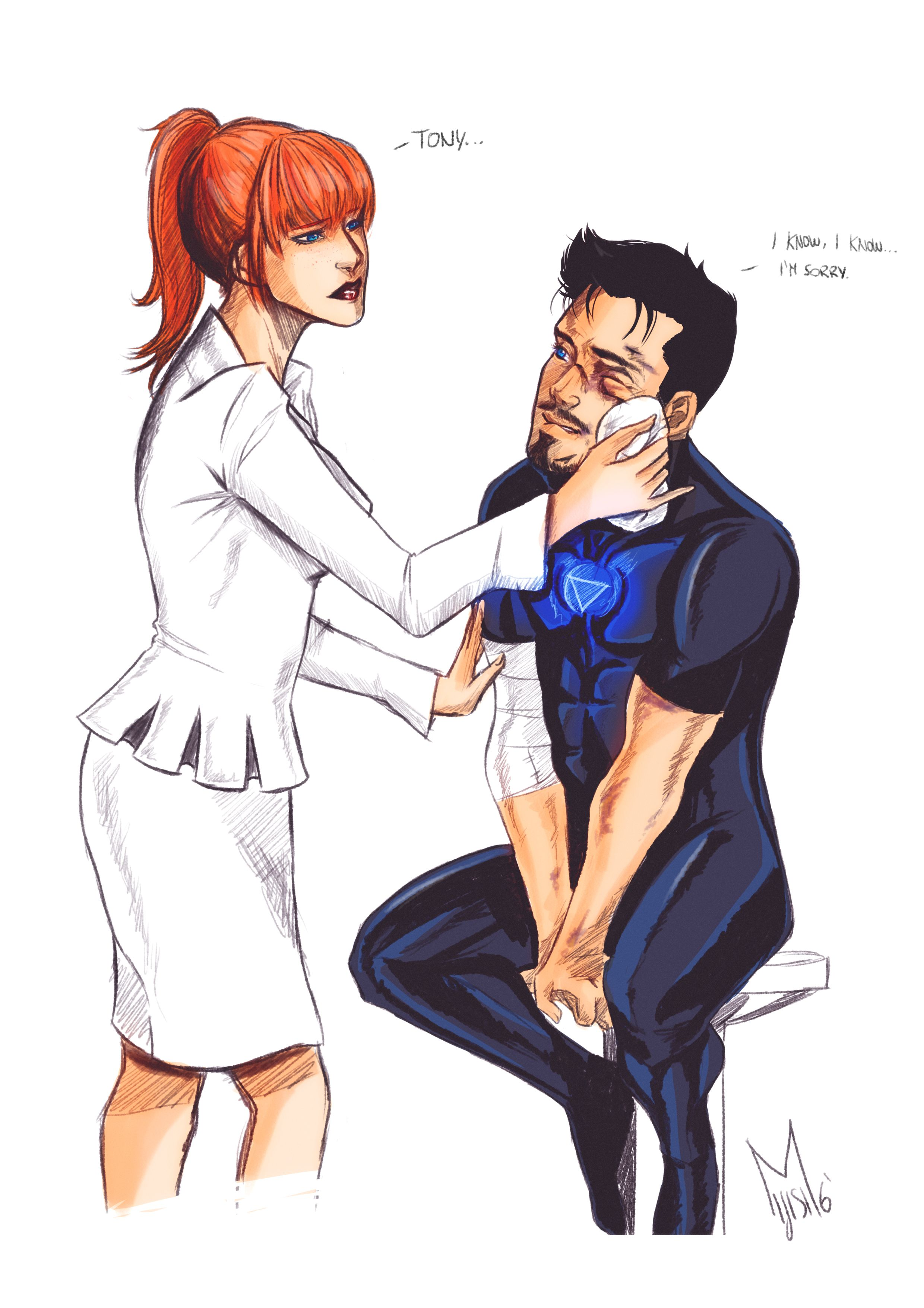 Pepperony Pepper Potts Tony Stark Marvel Superheroes Tony And Pepper Avengers