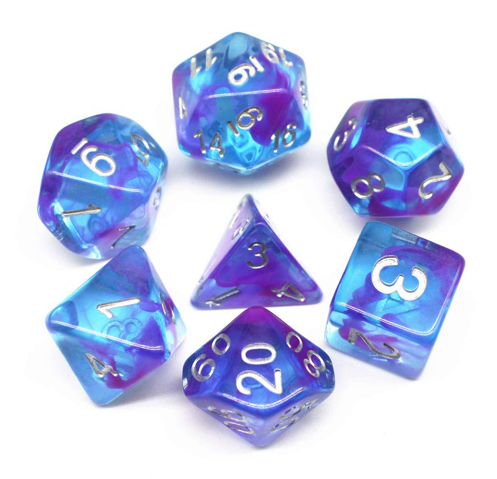 7pcs Set Glitter Dnd Dice D D Dice D4 D6 D8 D10 D D12 D20 Polyhedral Games Dice Set For Dungeons And Dragons Mtg Rpg Dice Dungeons And Dragons Dnd Game Dice