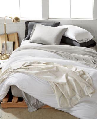 Calvin Klein Body Full Queen Duvet Cover Reviews Designer Bedding Bed Bath Macy S White Duvet Covers Duvet Covers Duvet Covers Twin