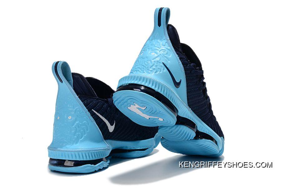 Nike Lebron 16 Navy Blue/Jade-White Men