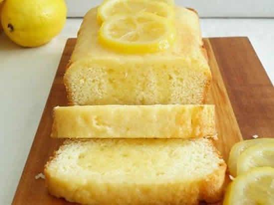 gateau citron faible calories - Cake au citron light..