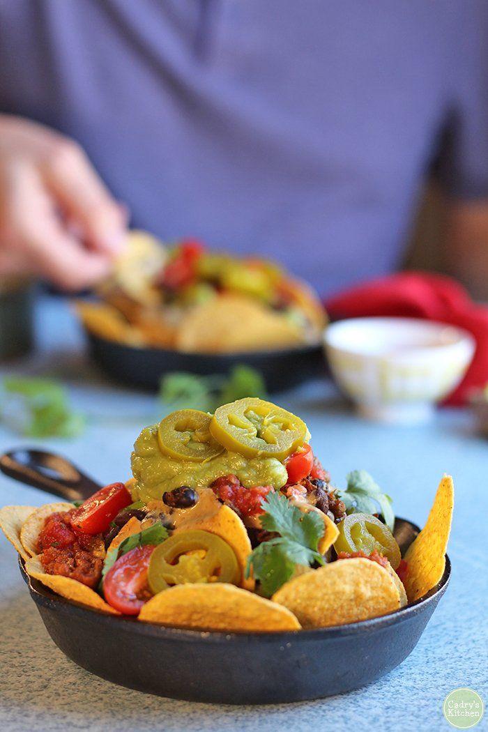 Build Your Own Vegan Nacho Bar Recipe Party Time