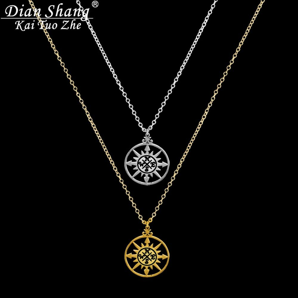 Dianshangkaituozhe pcs gold plated silver vintage collier one