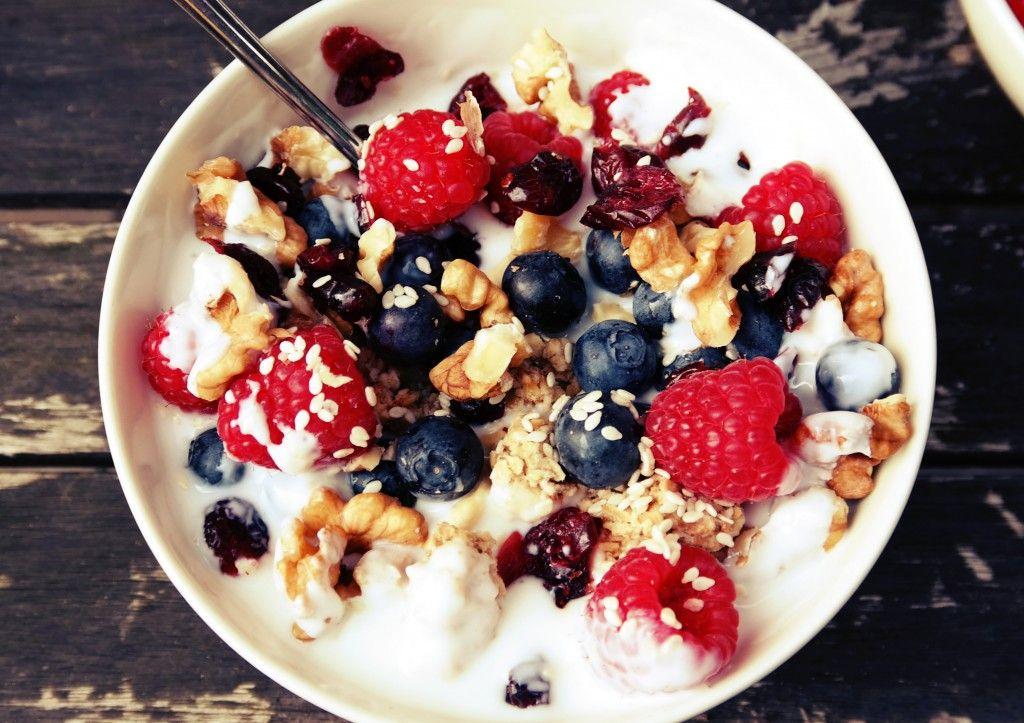 gezond ontbijt recepten yoghurt