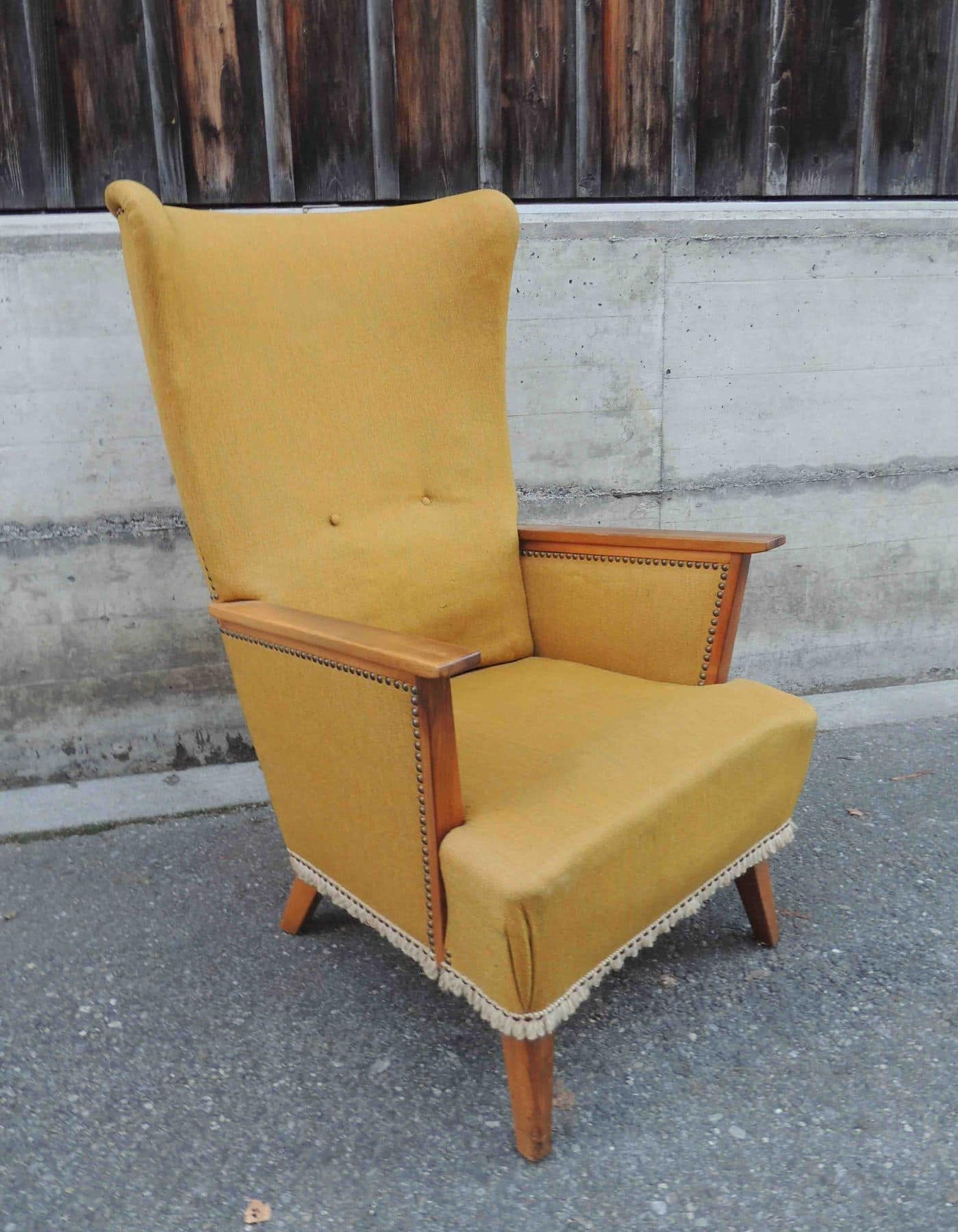 Design 60er jahre ohrensessel sessel in sursee kaufen bei for Sessel 60er design