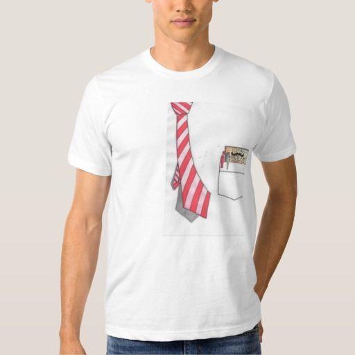 239ac0923c2f3 Camiseta manga corta Blanca Corbata.Día del Padre. Hombre. Dibujo animado.    Material  Camiseta de algodón. Tela muy suave y fresca. Ilustración