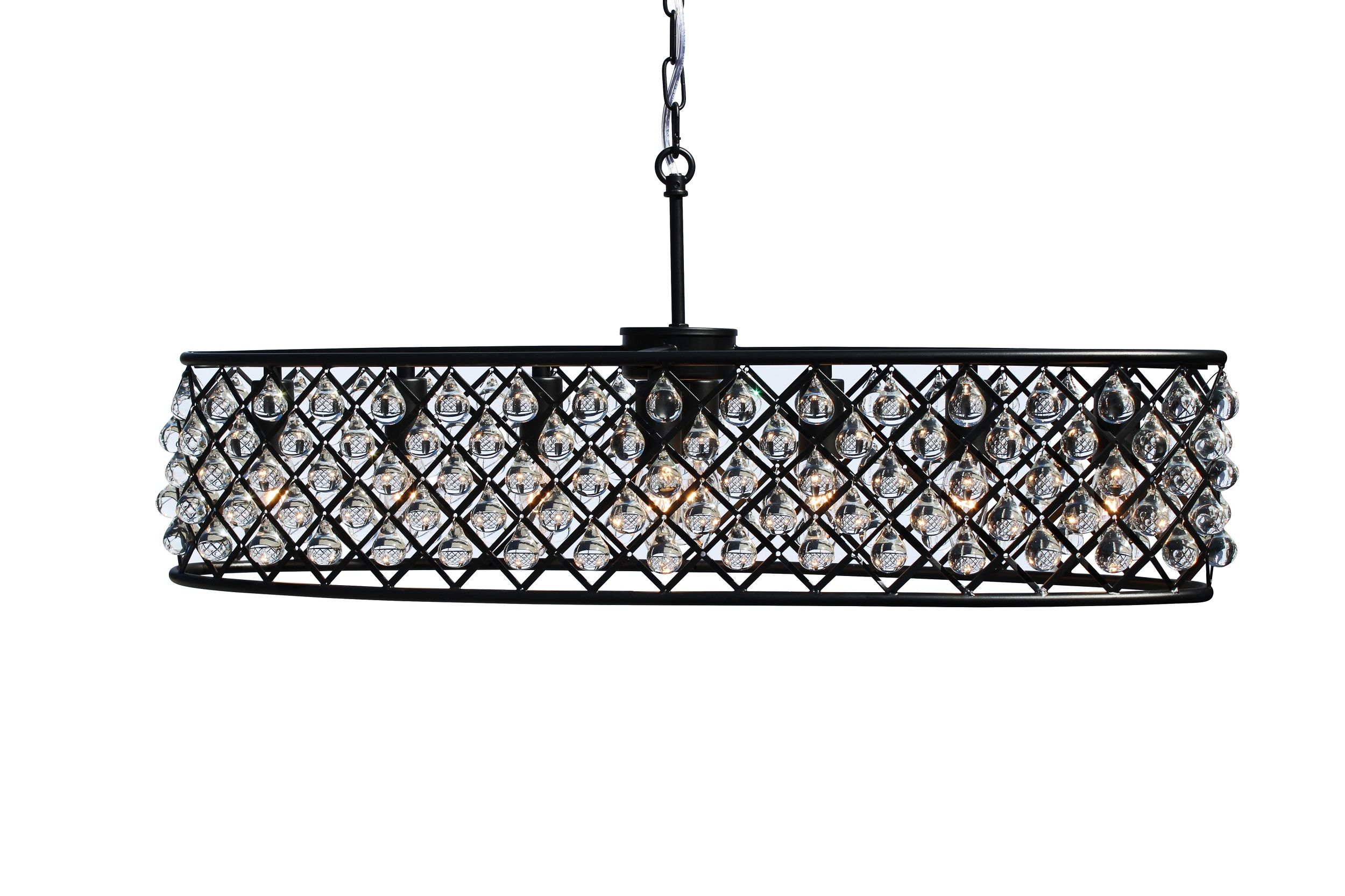 dark bronze oval glass crystal chandelier light up my home