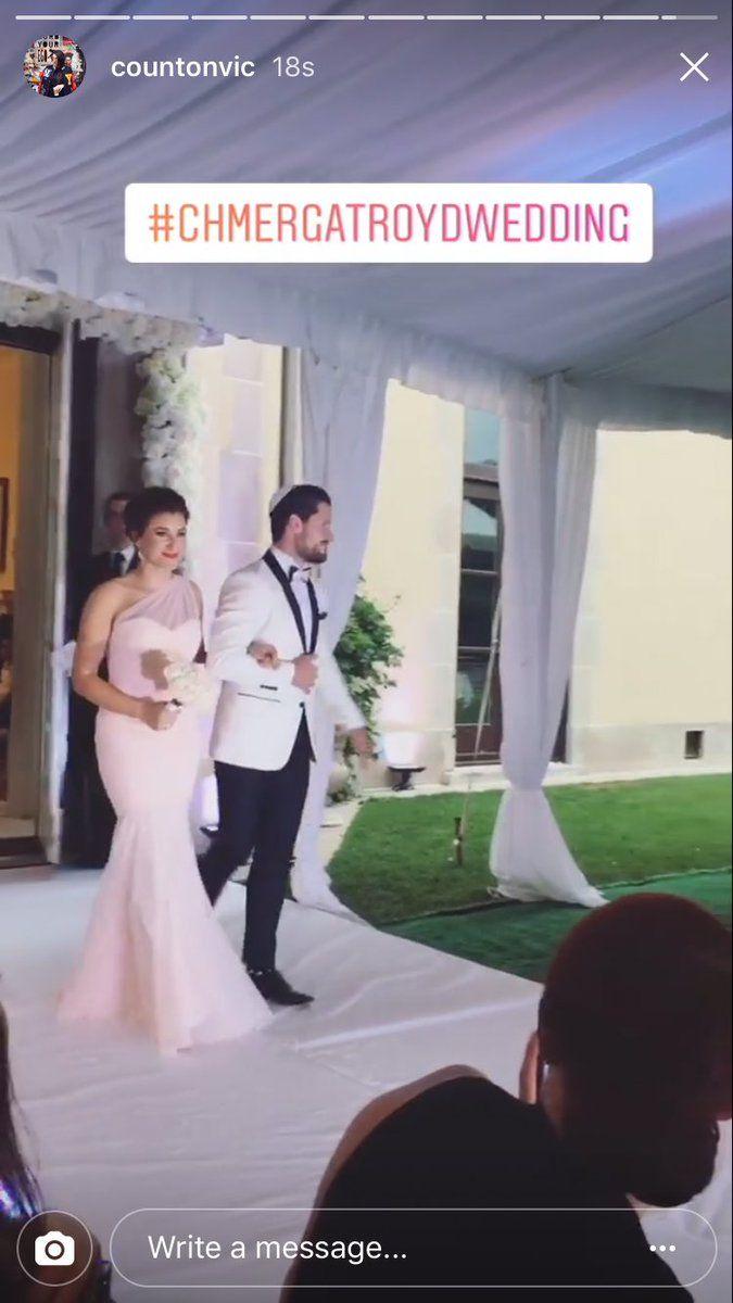 Ginger zee wedding dress  Serge Squad on  PETA and Peta murgatroyd